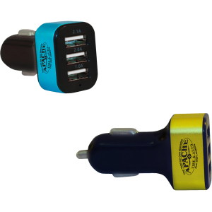 3 Port USB Car Charger