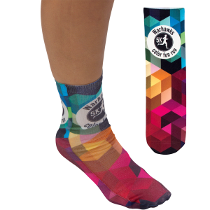 "Full Color Unisex 13"" Tube Promo Socks"