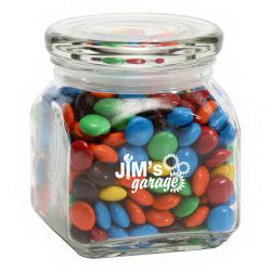 M&M's® Plain in Small Glass Jar