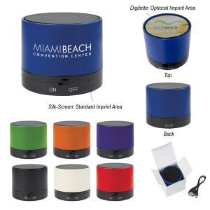 Wireless Mini Cylinder Speaker