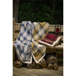 "Cottage Plaid Throw - 50"" x 60"""
