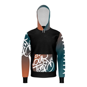 Import Unisex Dye-Sublimated Pullover Hoodie